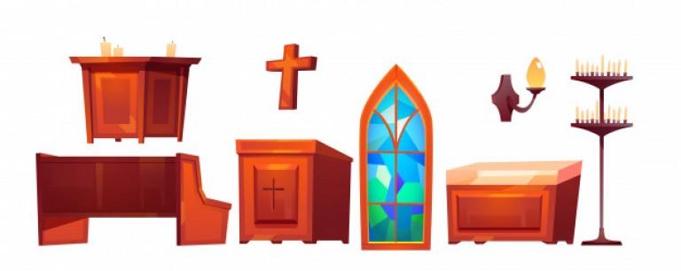 katholieke-kerk-in-interieur-spullen