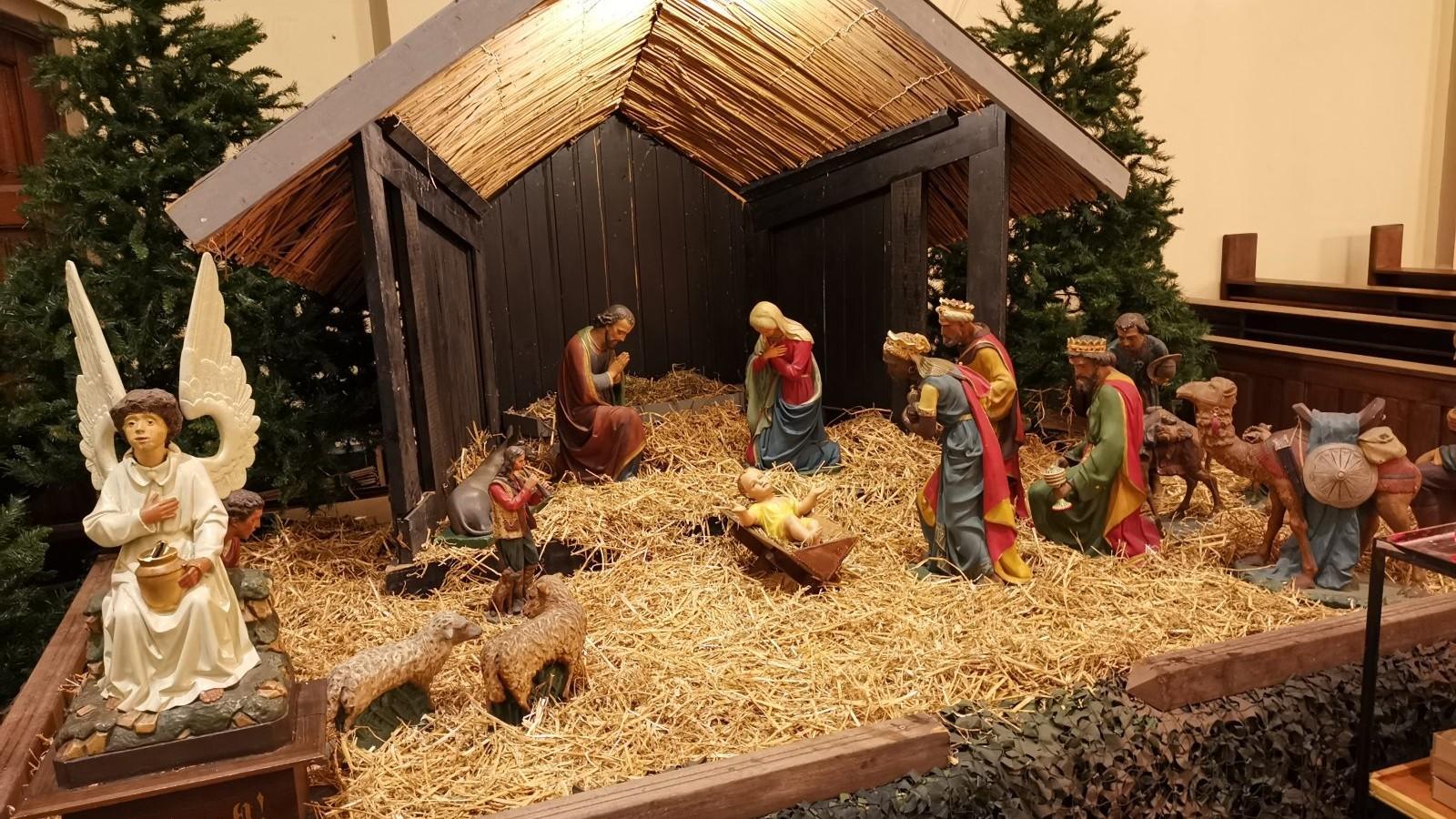 Kerststal Nicolaaskerk