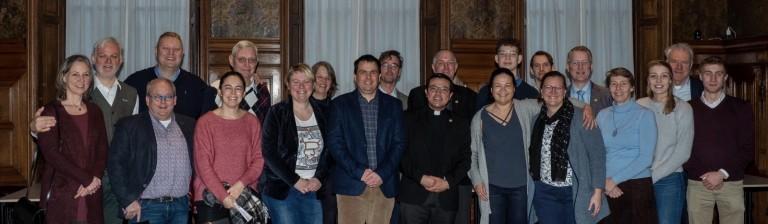 diakenwijding antoon en hulpbisschop en gezelgschap