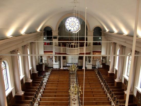 bovenzicht kerk