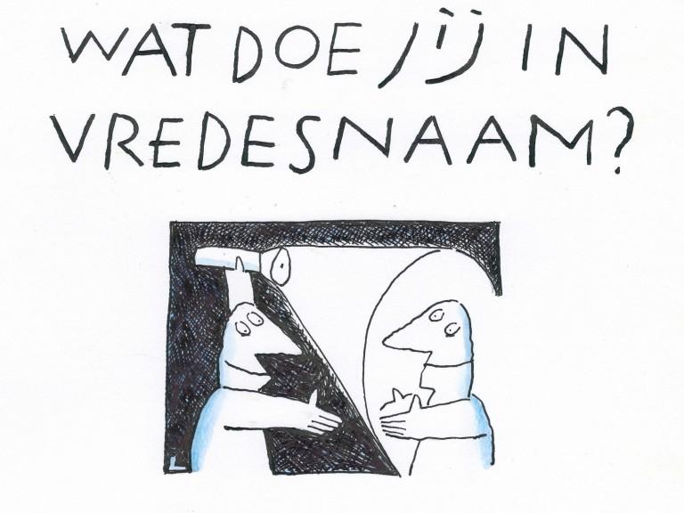 Cartoon Len Munnik 2021
