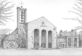 De Bilt Michaelkerk tekening